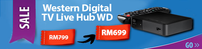 Western Digital TV Live Hub WD