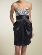 New Cocktail Evening Party Dress Black Size US 10 AU 14