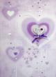 10 x Handmade Valentine Greeting Cards (HC122)