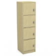 LOCKIT Combi Locker4D - Natural Maple