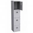 PRESTON Steel Locker 4D - Light Grey