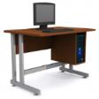 GRETEL Solo Computer Table V2 - Cherry Colour
