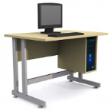 GRETEL Solo Computer Table V2 - Natural Maple Colour
