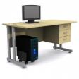 GRETEL Solo Computer Table V3 - Natural Maple Colour