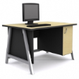 GRETEL Solo Computer Table V1 - Natural Maple Colour