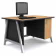 GRETEL Solo Computer Table V1 - Beech Colour