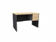 MATIX Drawer Table 2D - Beech Colour - 1200(W) x 600(D) x  760(H)