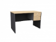 MATIX Drawer Table 2D - Beech Colour - 1500(W) x 600(D) x  760(H)