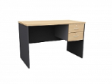MATIX Drawer Table 2D - Beech Colour - 1800(W) x 600(D) x  760(H)