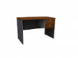 MATIX Drawer Table 2D - Cherry Colour - 1200(W) x 600(D) x  760(H)