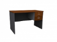 MATIX Drawer Table 2D - Cherry Colour - 1800(W) x 600(D) x  760(H)