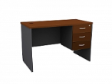 MATIX Office Drawer Table 3D  - CherryColour