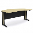 ROZET Office Executive Table V4  -Natural Maple Colour - 1800(W) x 750(D) x 760(H)