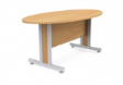 QUIK Oval Meeting Table DLX