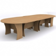 WINWOOD Oval Meeting Table V1