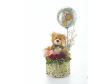 Teddy Bear for Gift - RUSS Bear & Roses in a Basket