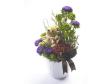 Teddy Bear for Gift - Teddy Bear, Roses, Esther in Ceramic Vase