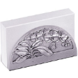 TUMASEK PEWTER ORCHIDS Card Holder
