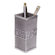 TUMASEK PEWTER ORCHIDS Pen Holder 2548