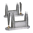 TUMASEK PEWTER PETRONAS TWIN TOWER Memo / Pen Holder