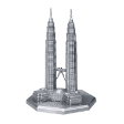 TUMASEK PEWTER PETRONAS TWIN TOWER Figurine