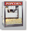 Newvos 16 oz. Merchant Counter and Floor Model Popper - Popcorn Machine