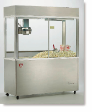 Newvos 32 oz. Diplomat 5' Floor Model Popper - Popcorn Machine