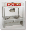 Newvos 32 oz. Diplomat Self-Serve 4' Counter and Floor Model Popper - Popcorn Machine