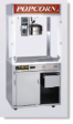 Newvos 60 oz. Diplomat 3' Floor Model Popper - Popcorn Machine