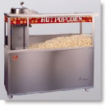 Newvos 20 oz. Open Top President 5' Cabinet - Popcorn Machine