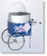 Newvos Ringmaster Knodk Down Two-Wheel Cart Cotton Candy Machine
