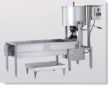 Newvos CMD100 Gourmet Cooker and Coater on 6' Table with Blower