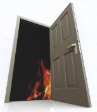 Roofseal Fire Rated Door