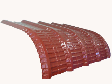 Roofseal Crimp Curve Industrial Profile Metal Roofing