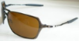 OAKLEY INMATE POLISHED GOLD WITH GREY LENS EYE-WEAR SUNGLASSES