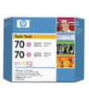 CB346A - HP Inkjet Cartridge CB346A (70) Light Magenta Twin Pack (2 x 130ML)