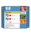 CB347A - HP Inkjet Cartridge CB347A (70) Red Twin Pack (2 x 130ML)