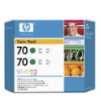 CB348A - HP Inkjet Cartridge CB348A (70) Green Twin Pack (2 x 130ML)