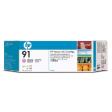 C9487A - HP Inkjet Cartridge C9487A (91) Light Magenta Multi Pack (3 x 775ML)
