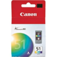 0618B003AA - Canon CL-51 Ink Cartridge Colour