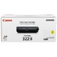 2647B001AA - Canon Cartridge 322 II (Yellow) Toner Cartridge
