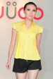 Baby Yellow Female Casual Shirt