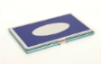 ALUMINIUM CARD HOLDER BLUE 5