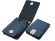 LEATHER NAME CARD CASES WITH PEN