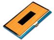 ALUMINIUM NAME CARD CASE WOOD 5