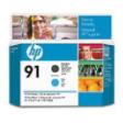 C9460A - HP Inkjet Cartridge C9460A (91) Matte Black/Cyan Printhead