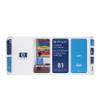 C4951A - HP Inkjet Cartridge C4951A (81) Cyan Printhead and Printhead Cleaner