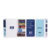 C4954A - HP Inkjet Cartridge C4954A (81) Light Cyan Printhead and Printhead Cleaner