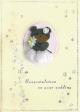 15 x Fine Handmade Wedding Greeting Cards (HM325)