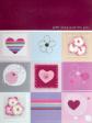 15 x Fine Handmade Valentine Greeting Card (HM341)